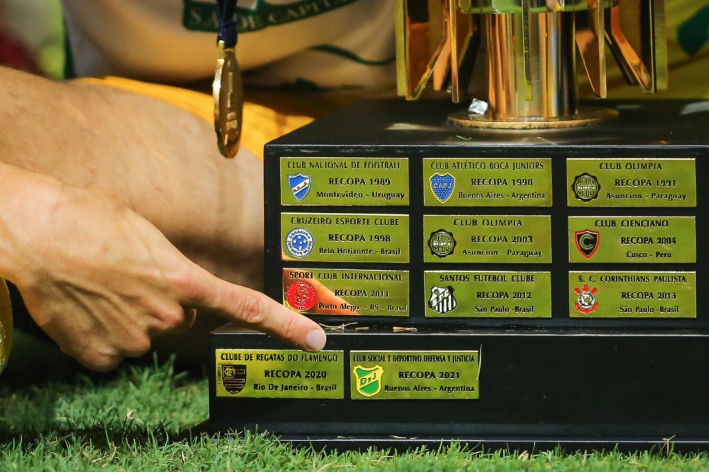 La chapita del Campeón. CONMEBOL