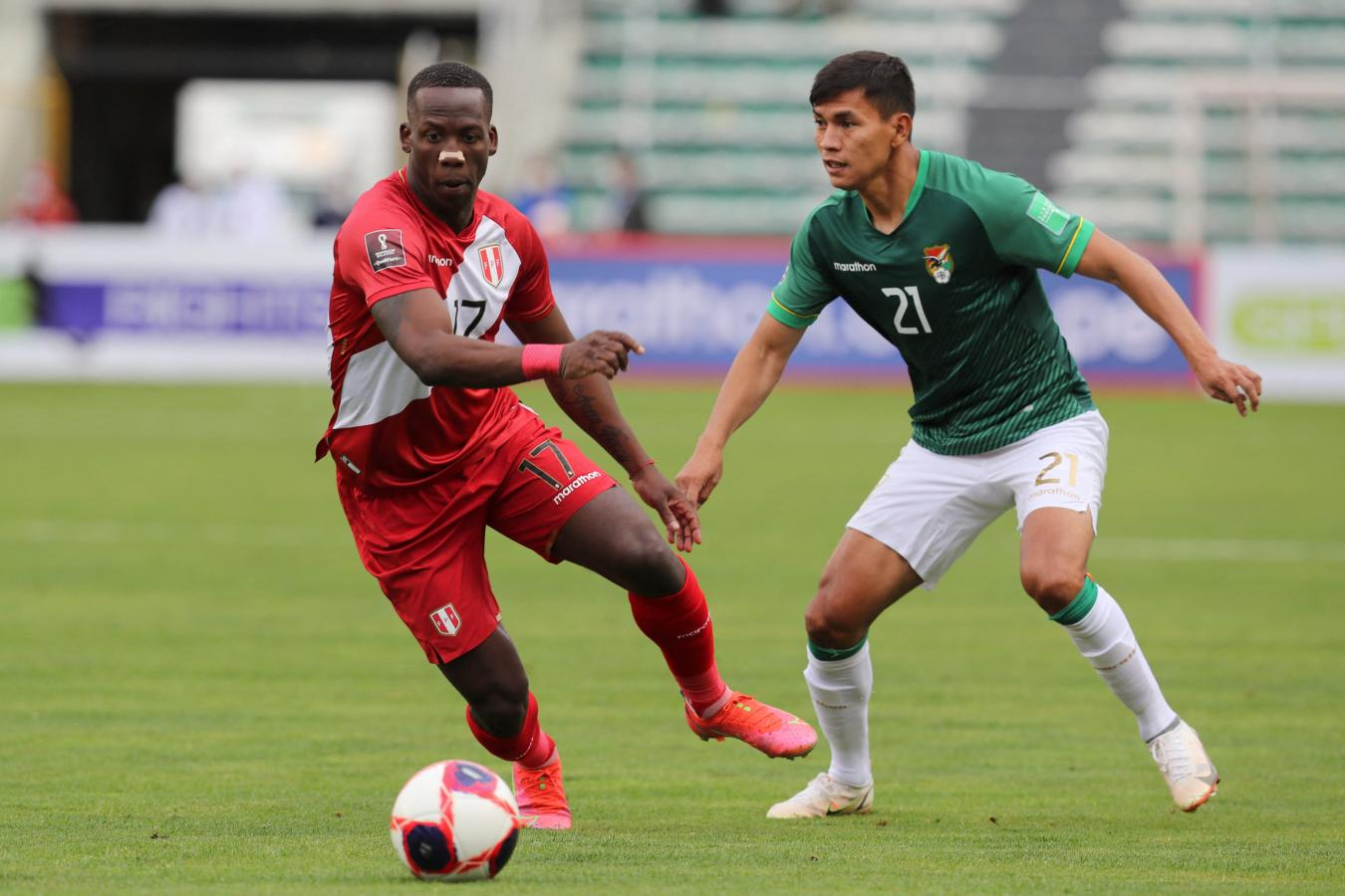 SEGUNDO TIEMPO: BOLIVIA 0-0 PERÚ   El Gráfico