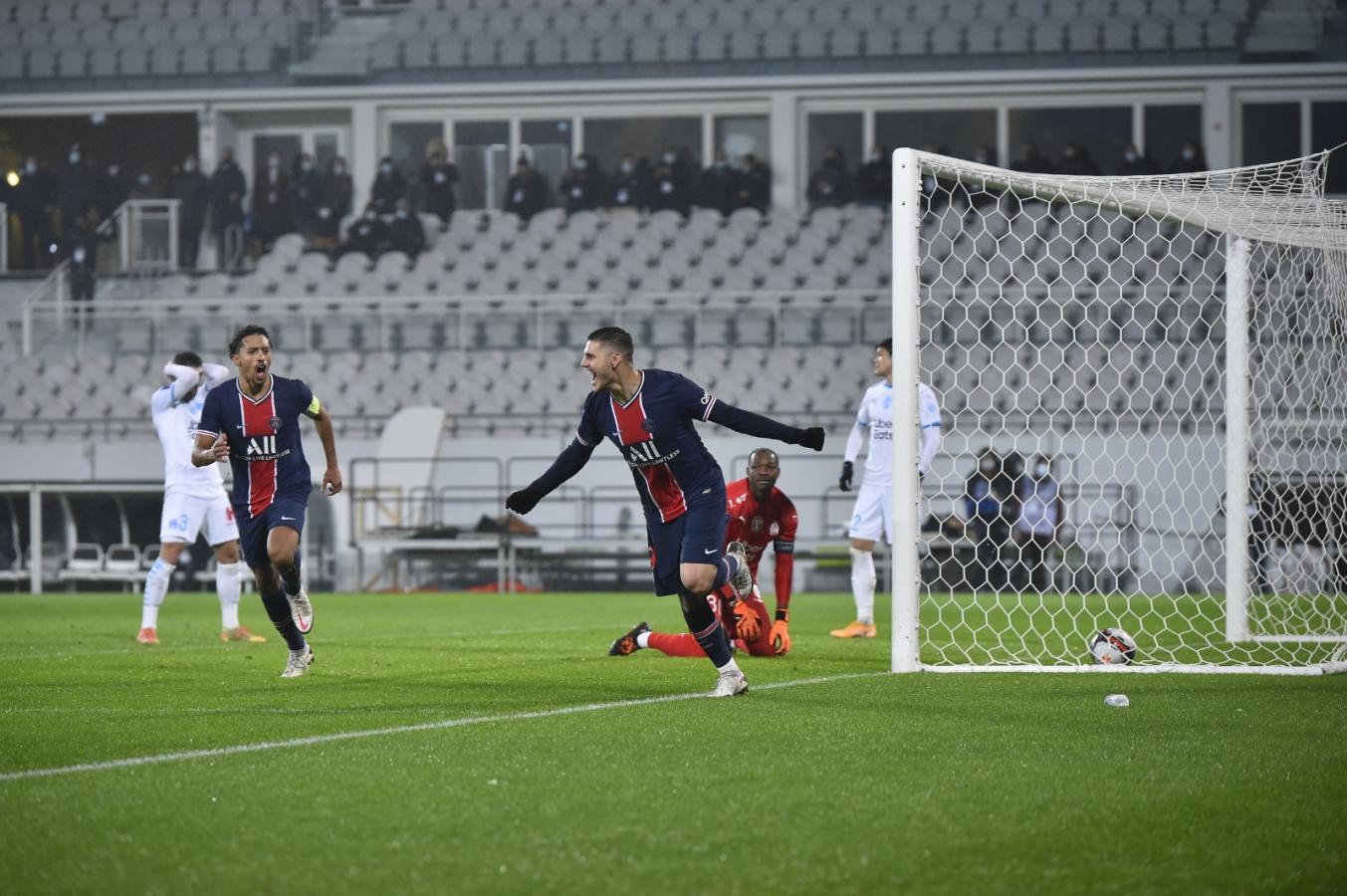 Icardi abrió la cuenta para PSG