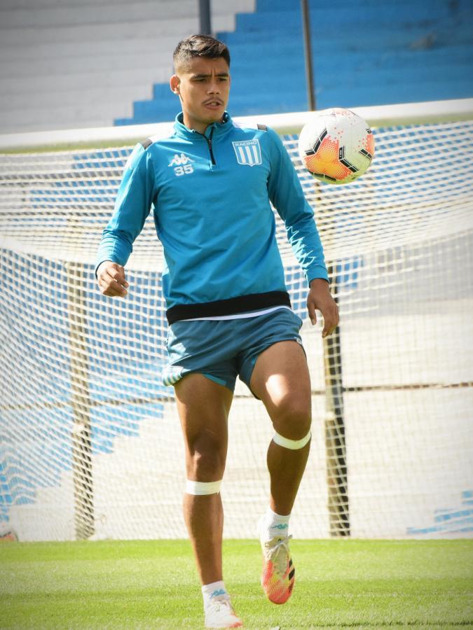 Melgarejo, el autor del único gol en la ida