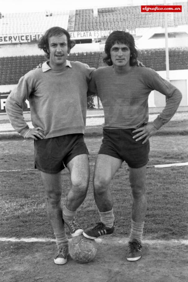 1973. Perico Pérez y el Pato. La pregunta era ¿Fillol o Perico?. Finalmente Ubaldo se quedaría con el puesto en RiIver Plate.