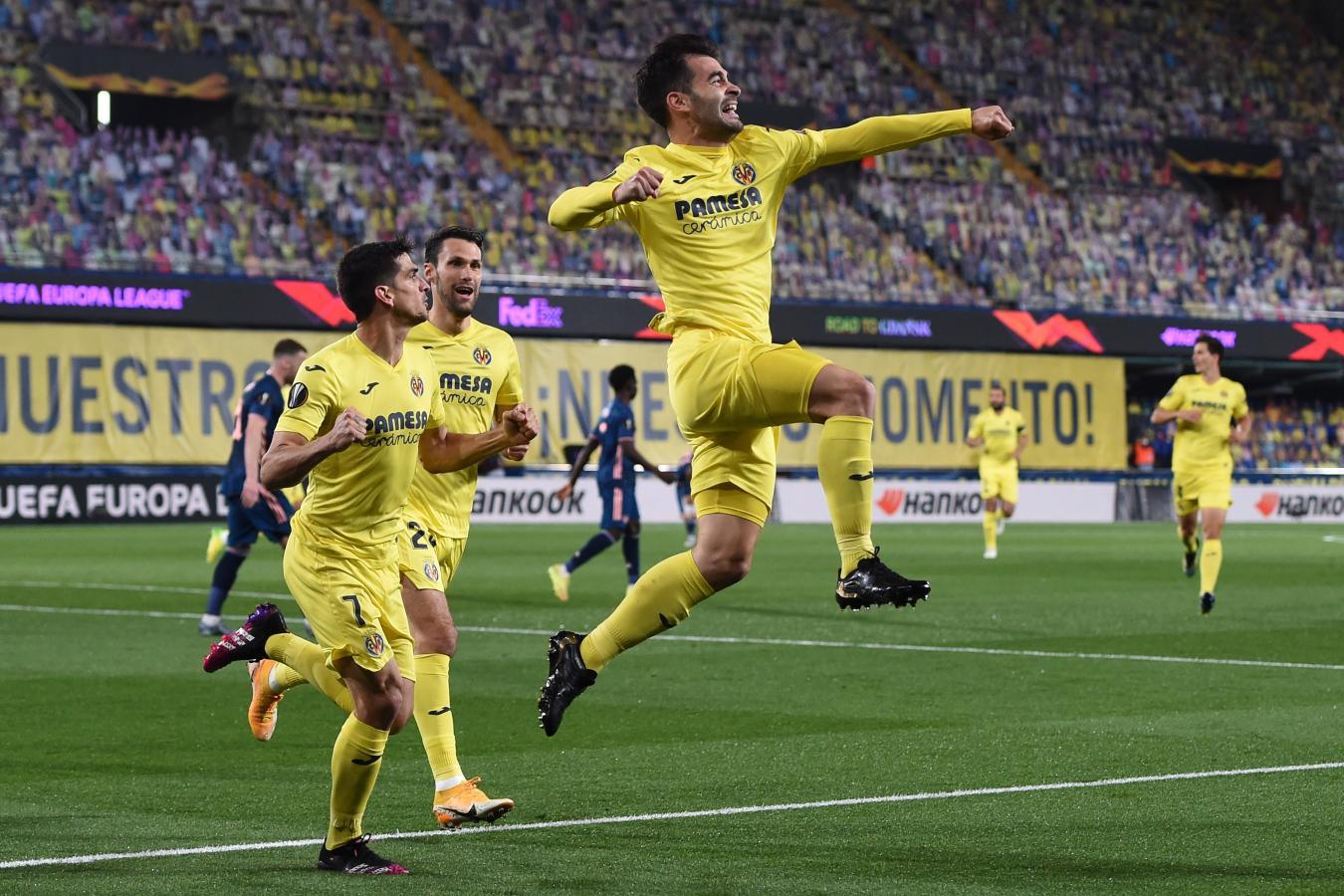 Manu Trigueros abrió la cuenta en el Estadio de la Cerámica a los 5 minutos.
