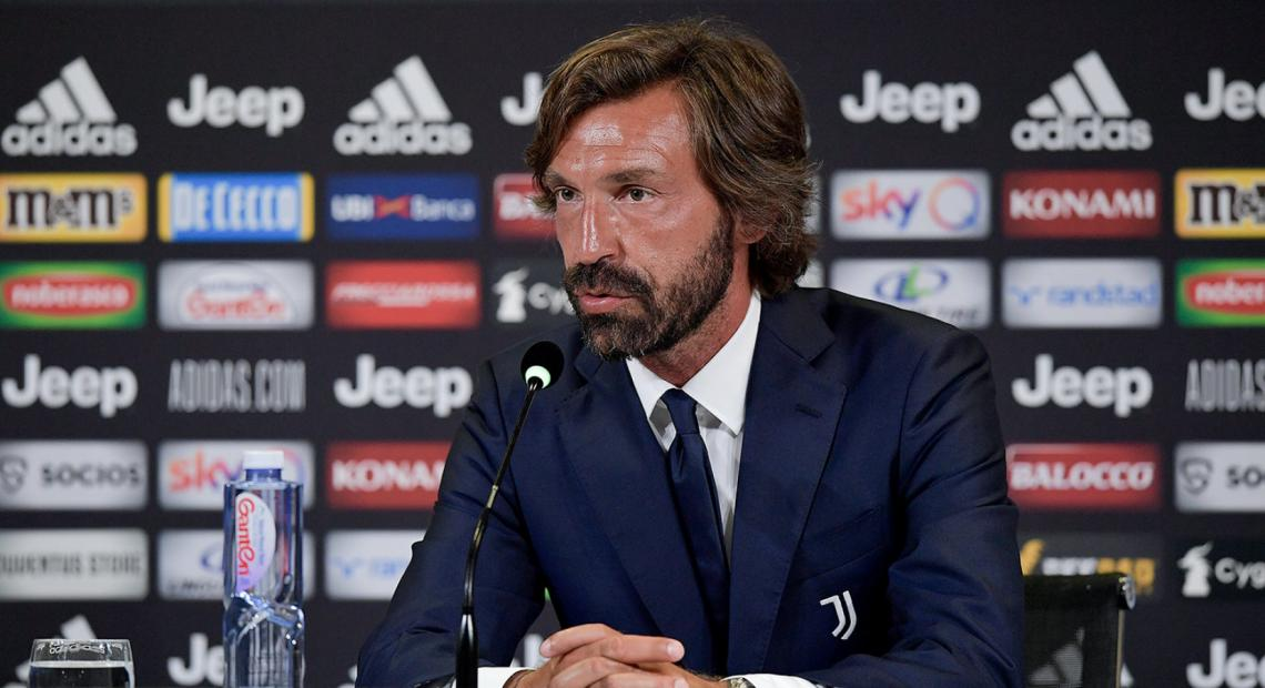 Andrea Pirlo ante su gran oportunidad. La Juve lo espera.