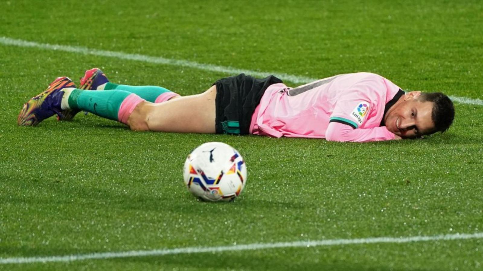 Messi y la pelota, una relación perfecta