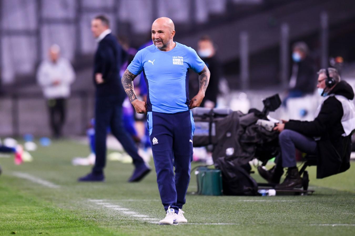 Sampaoli sumó su segundo empate como entrenador del Olympique de Marsella.