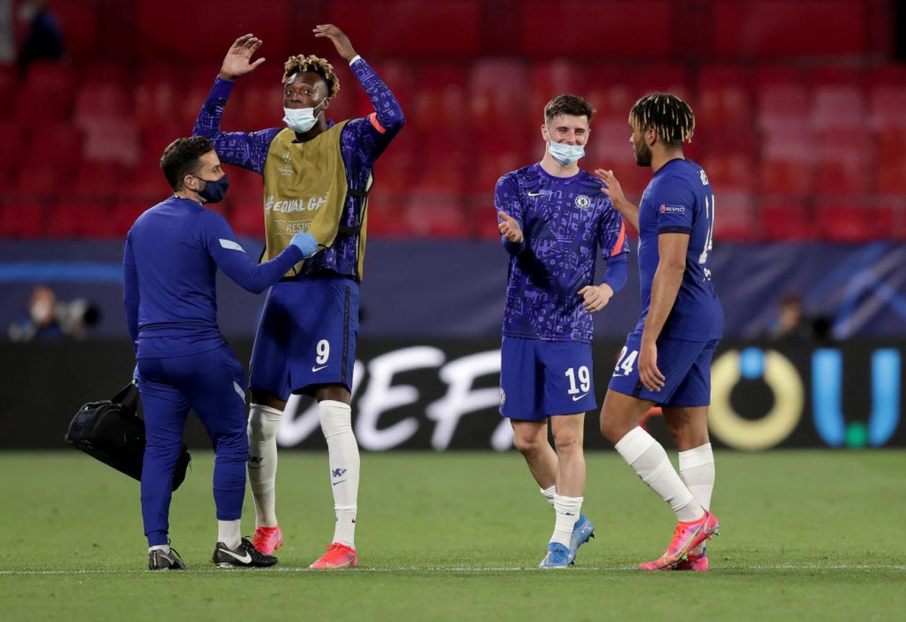 Chelsea, otra vez en semifinales después de 7 años (@LigadeCampeones)