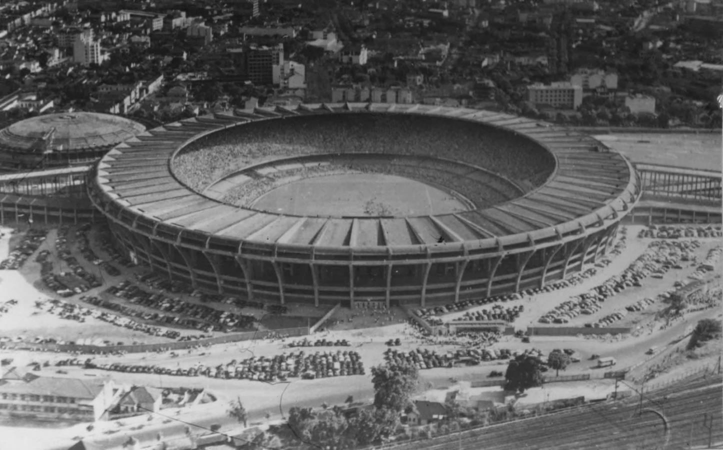 El imponente Maracaná: en sus inicios el más grande del mundo.