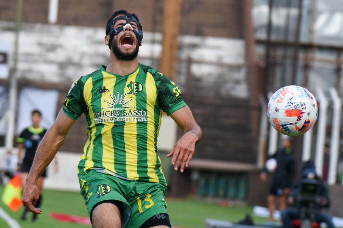 El hombre de la máscara. @LigaAFA