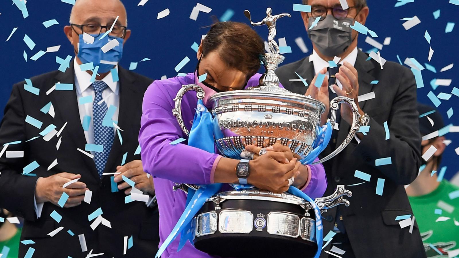 Nadal, una vez más campeón en Barcelona