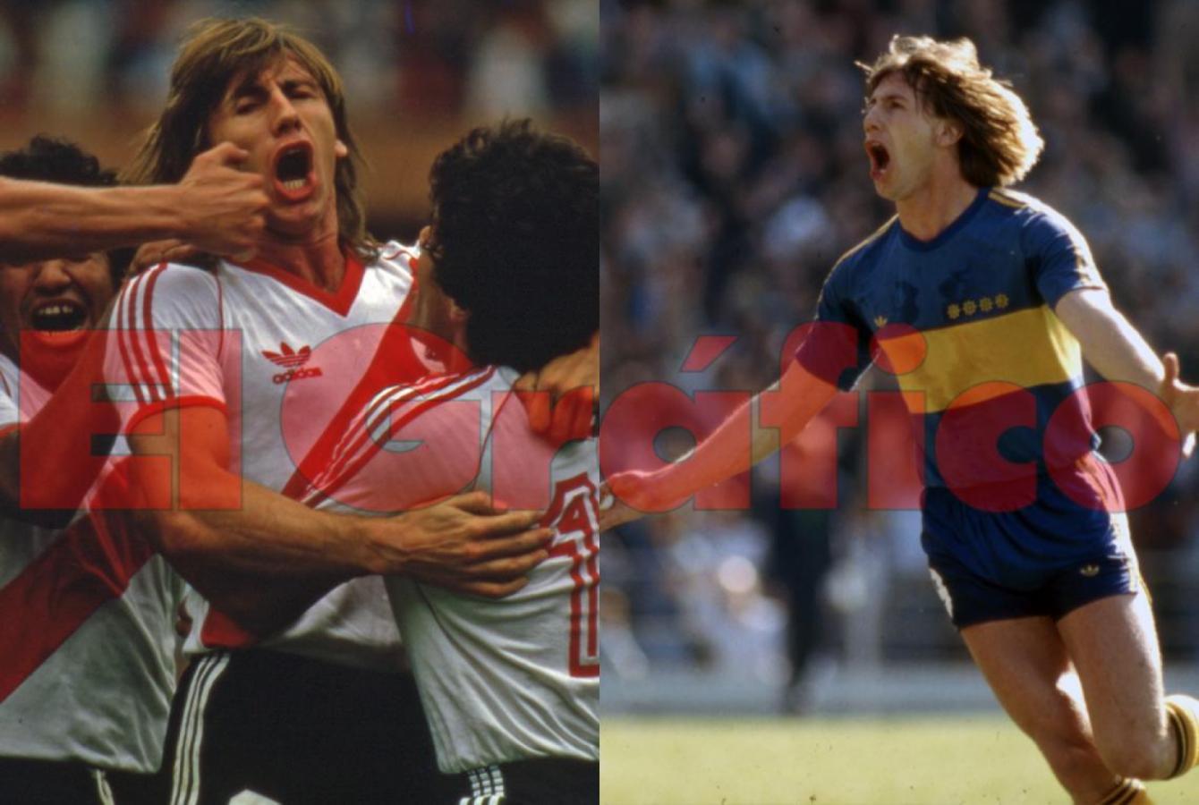 Ricardo Gareca, más que un goleador.