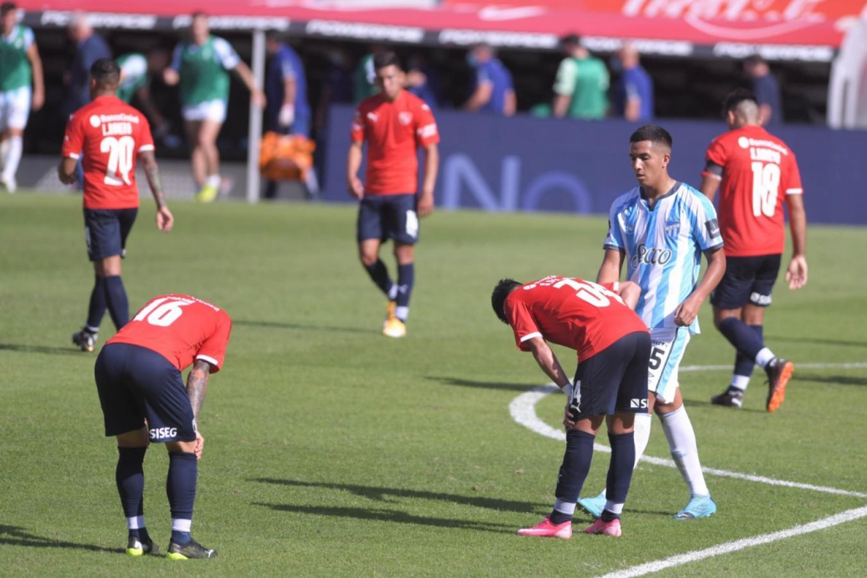 La foto de la derrota del Rojo. Julián Álvarez, Telam
