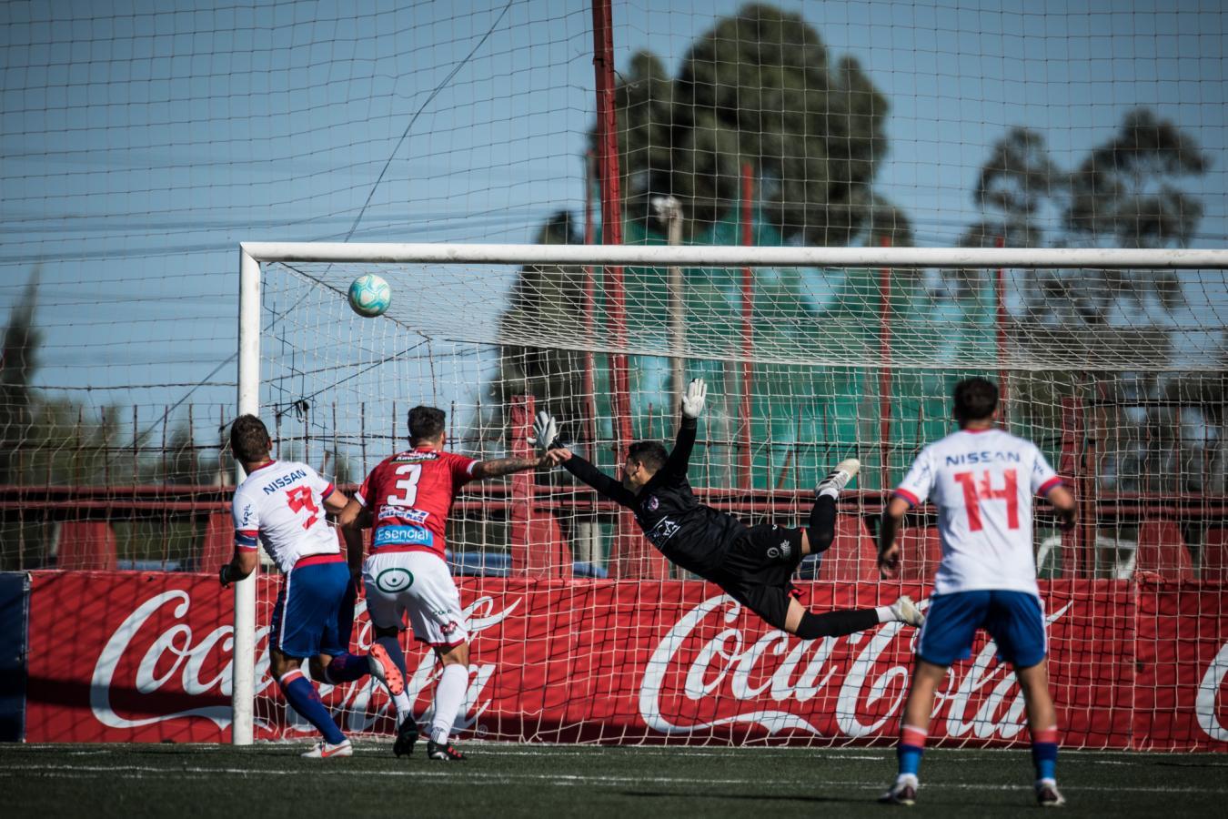 El gol del triunfo en la revancha de la Final del Campeonato Uruguayo. Bergessio fue la figura del certamen.
