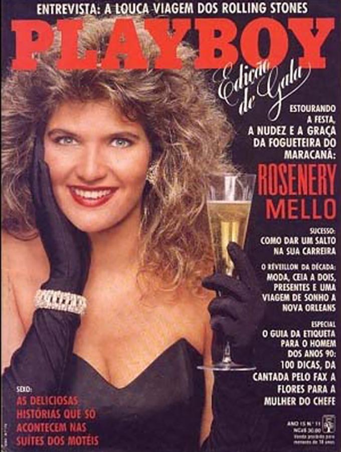 "Rosenery Mello, ""la Fogueteira do Maracanã"" después de arrojar la bengala, tuvo sus 5 minutos de fama."