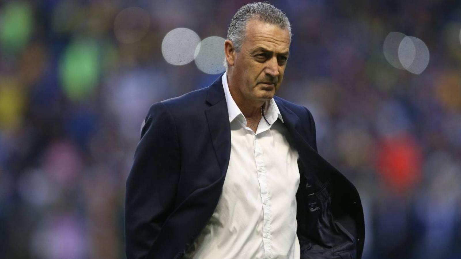Gustavo Alfaro, el reemplazante de Jordi Cruyff.