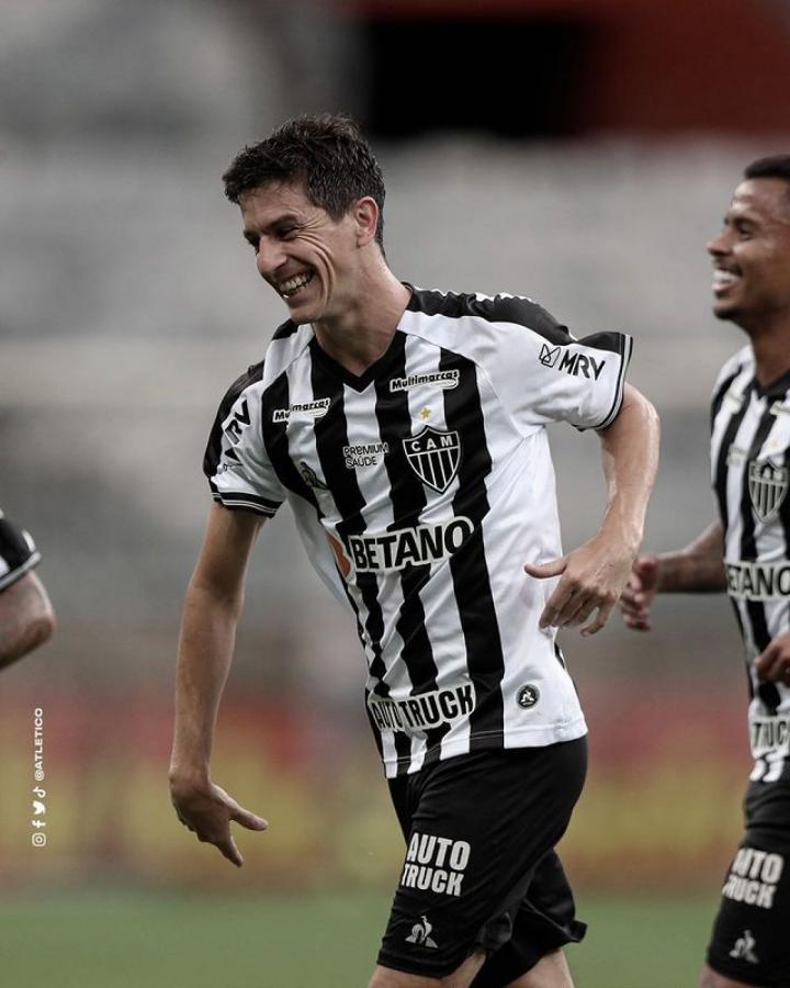 Nacho Fernández suma 3 goles en 3 partidos en Atlético Mineiro