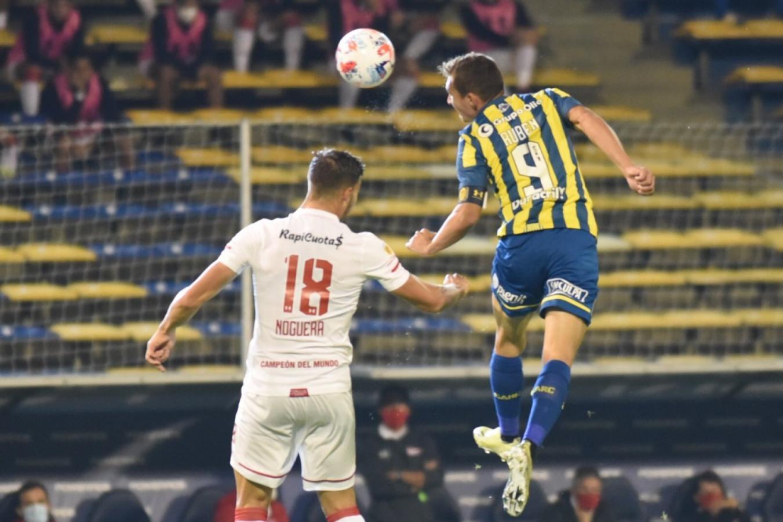 El salto del goleador. Rosario Central