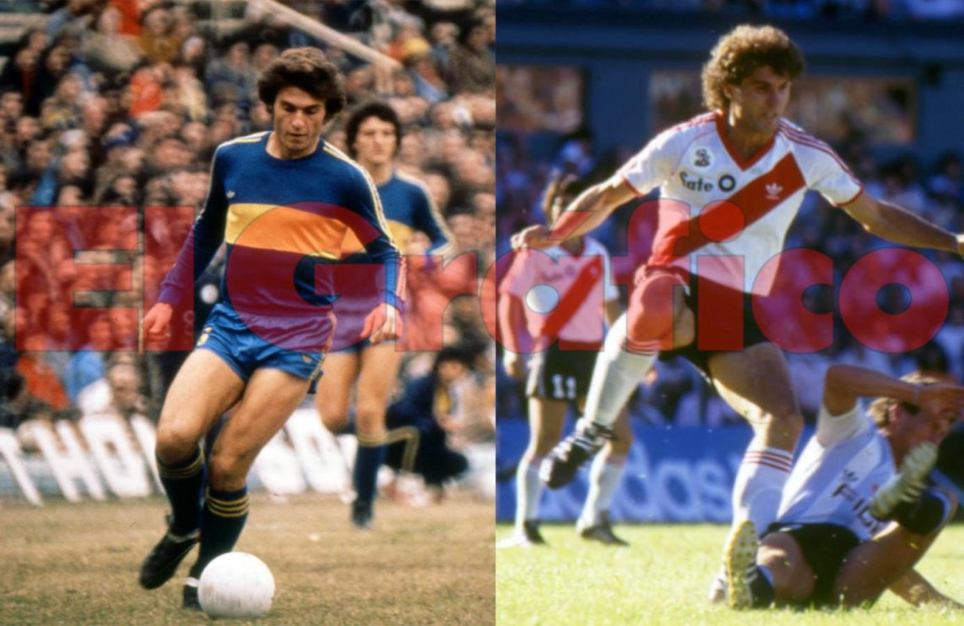 Oscar Alfredo Ruggeri, de las inferiores de Boca a ganar todo con RIver.