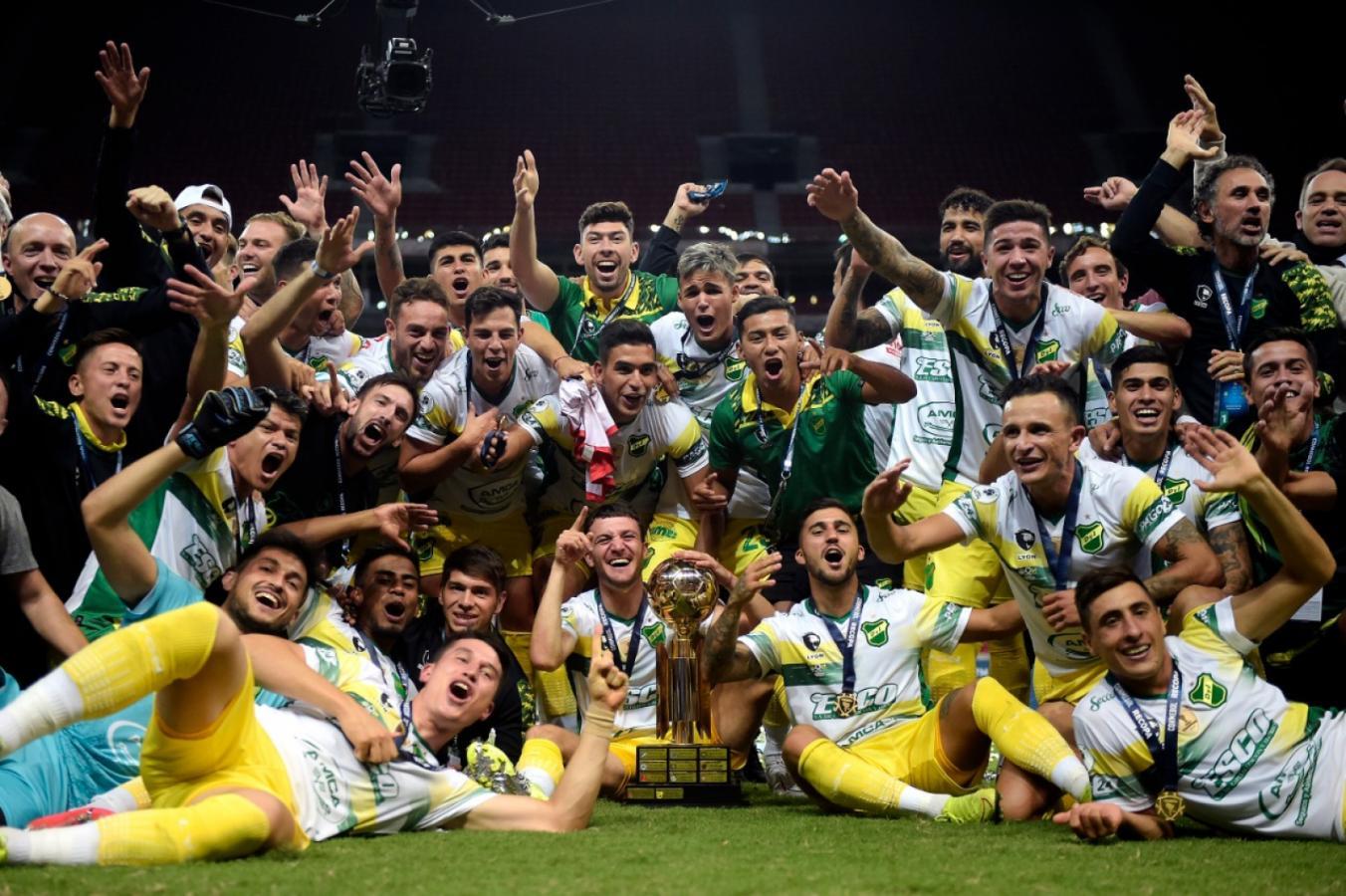 La foto con la Copa. CONMEBOL