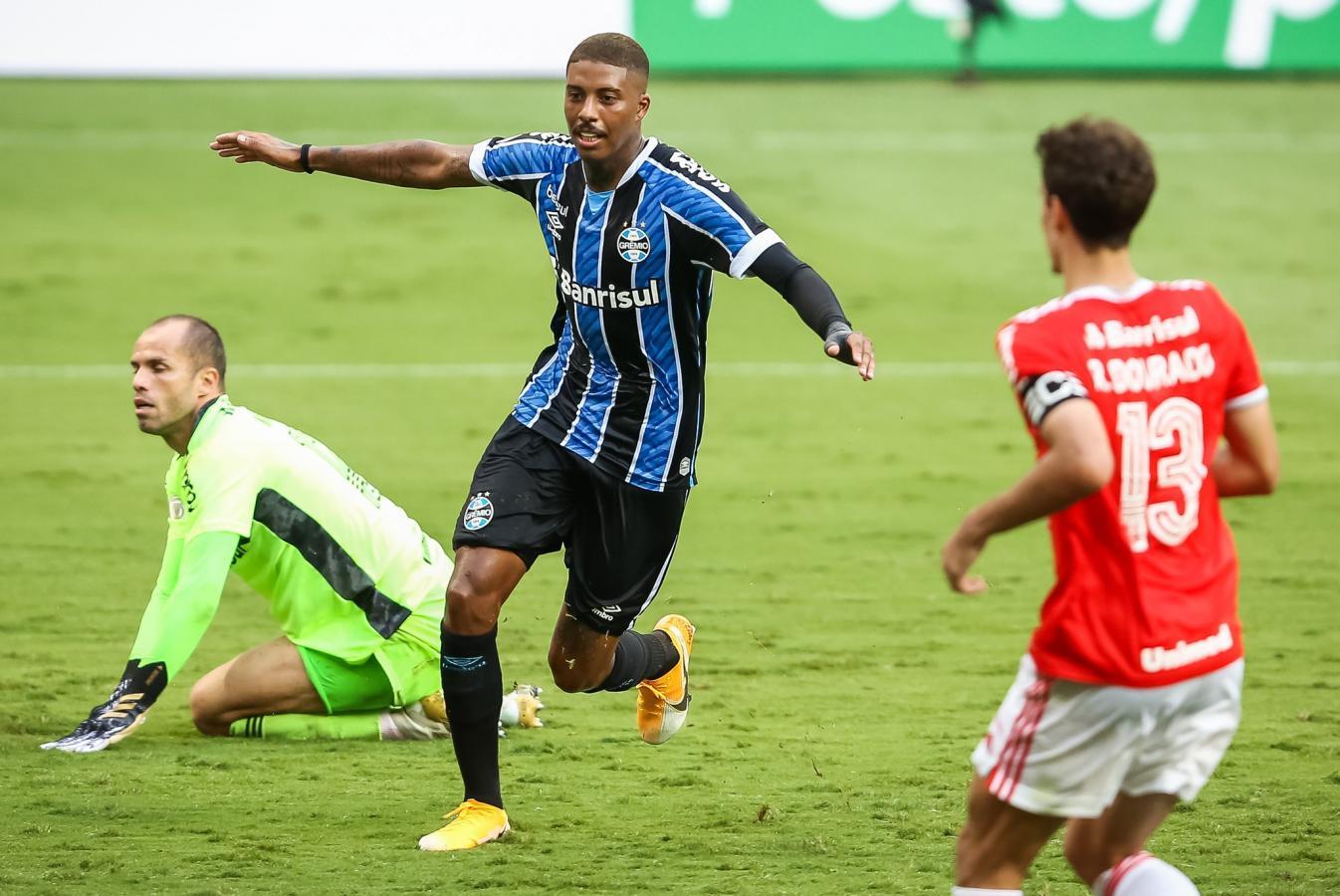 Jean Pyerre abrió el marcador pero el equipo de Renato no pudo sostener la ventaja. Foto: Pedro Tesch/AGIF