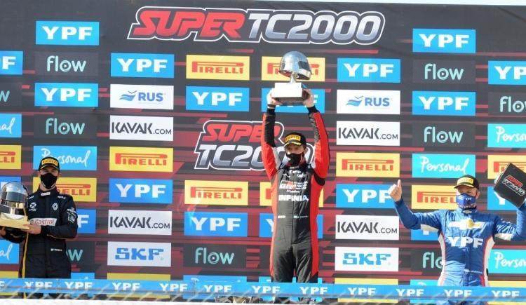 Imagen de SUPER TC 2000: VICTORIA DE MATÍAS ROSSI EN LA PAMPA