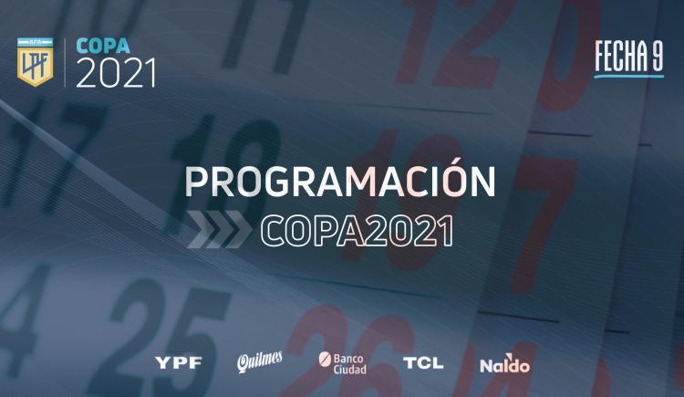 Imagen de SE CONFIRMÓ LA PROGRAMACIÓN DE LA FECHA 9 DE LA COPA DE LA LIGA