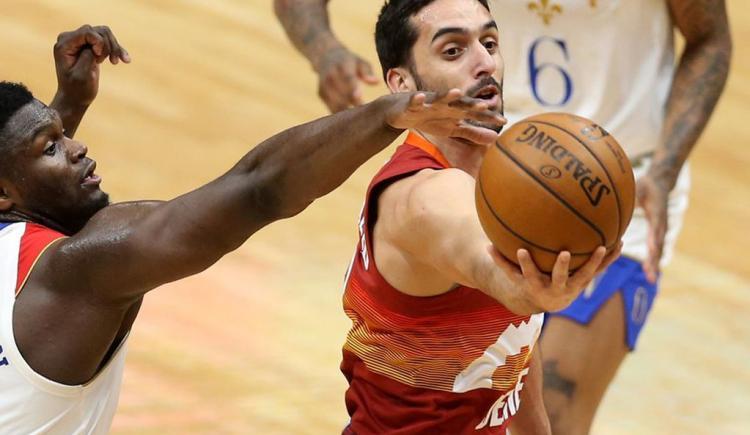 Imagen de PRIMER DOBLE-DOBLE DE CAMPAZZO EN LA NBA
