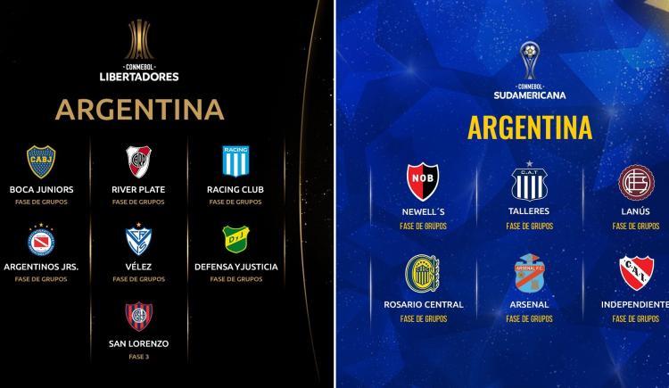 Imagen de CONMEBOL DIFUNDIÓ LOS PREMIOS DE LA LIBERTADORES Y SUDAMERICANA